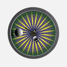 Super Collider Wall Clock