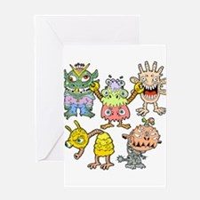 Extraterrestrial Greeting Card