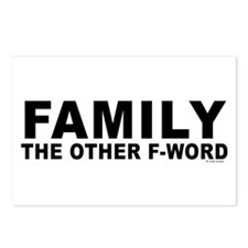 Family - The Other F-Word Postcards (Package of 8)