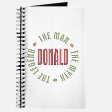 Donald Man Myth Legend Journal