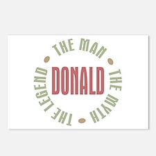 Donald Man Myth Legend Postcards (Package of 8)