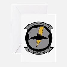 VMFA 242 Bats Greeting Cards (Pk of 10)