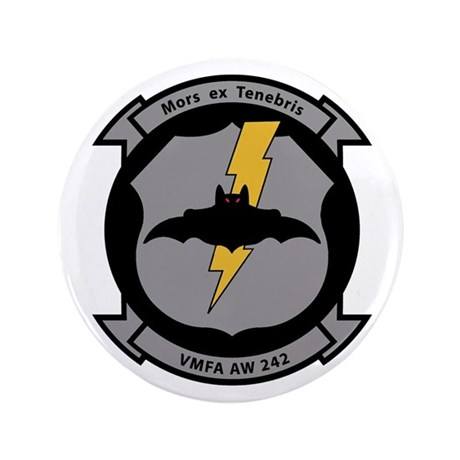 "VMFA 242 Bats 3.5"" Button"