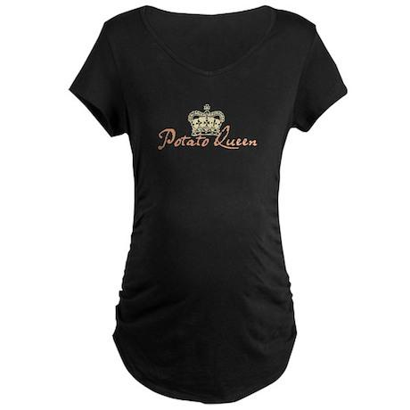 CROWN & TEXT Maternity Dark T-Shirt