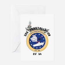 USS Constellation CV-64 Greeting Card