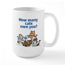 How Many Cats? Mug