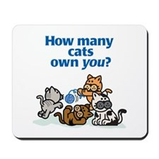 How Many Cats? Mousepad