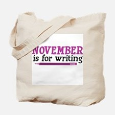 November is for Writing Tote Bag