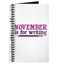 November is for Writing Journal