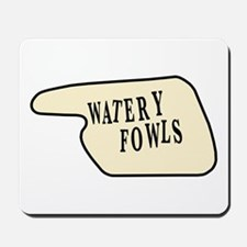 Watery Fowls Mousepad