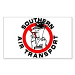 S.A.T. Rectangle Sticker 50 pk)