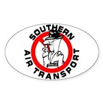 S.A.T. Oval Sticker (10 pk)