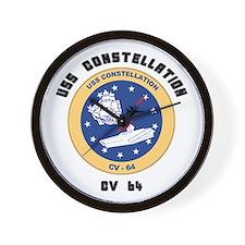 USS Constellation CV-64 Wall Clock