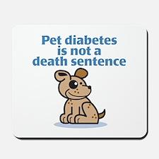 Pet Diabetes (Dog) Mousepad
