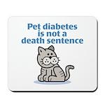 Pet Diabetes (Cat) Mousepad