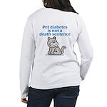 Pet Diabetes (Cat) Women's Long Sleeve T-Shirt