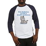 Pet Diabetes (Cat) Baseball Jersey