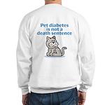 Pet Diabetes (Cat) Sweatshirt
