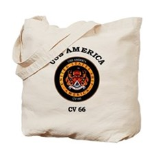USS America CV-66 Tote Bag