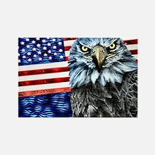 American Eagle USA- Rectangle Magnet