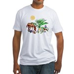 Animal Picnic Fitted T-Shirt