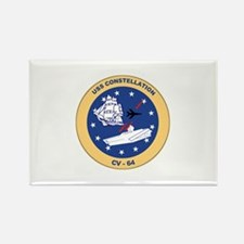 USS Constellation CV-64 Rectangle Magnet