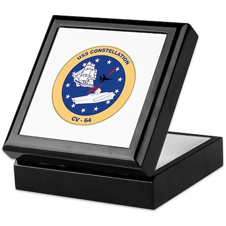 USS Constellation CV-64 Keepsake Box
