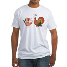 Canadian turkey - Fitted Tee