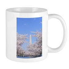 Cute Washington dc cherry blossom Mug