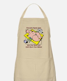 Bacon in Sun BBQ Apron