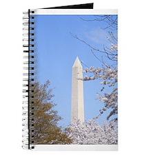 Funny Washington dc cherry blossom Journal