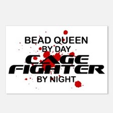 Bead Queen Cage Fighter by Night Postcards (Packag