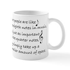Short Music Mug