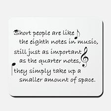 Short Music Mousepad