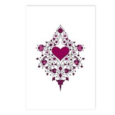 Hearts and Vines Postcards (Package of 8)