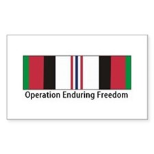 OEF Rectangle Sticker 10 pk)