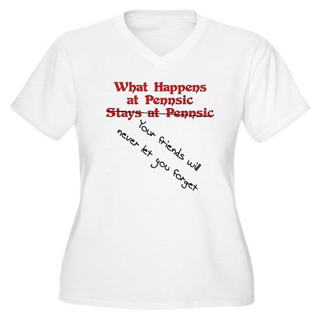 What Happens at Pennsic... Women's Plus Size V-Nec