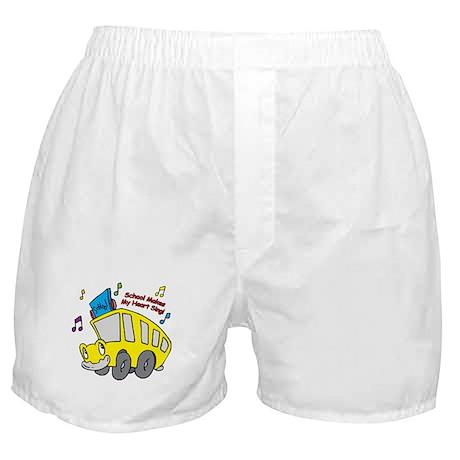 School Heart Sing Boxer Shorts