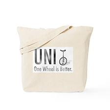Unicyle Tote Bag