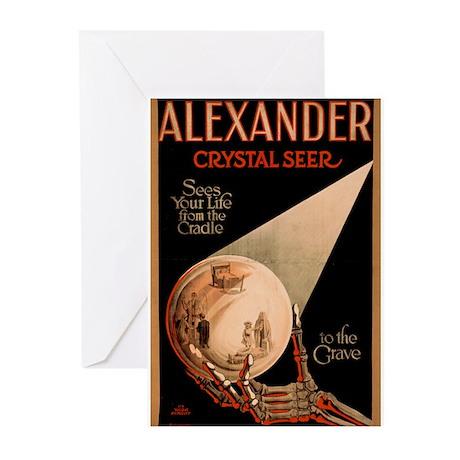 Alexander Crystal Seer Greeting Cards (Pk of 10)