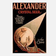 Alexander Crystal Seer Postcards (Package of 8)