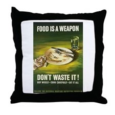 Cute World war ii Throw Pillow