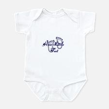 Unique Baby feet Infant Bodysuit