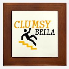 Clumsy Bella Framed Tile