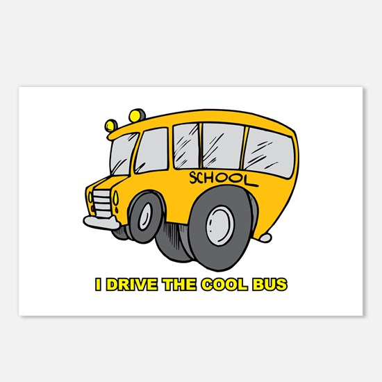 I Drive Cool Bus Postcards (Package of 8)