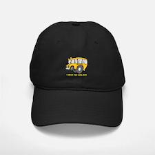 I Drive Cool Bus Baseball Hat