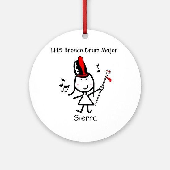 Drum Major - Sierra Ornament (Round)