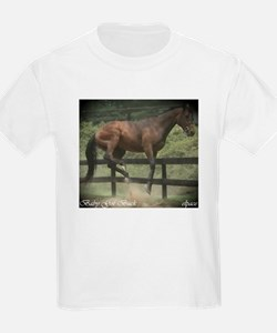 Bucking Horse Bronco Kids T-Shirt,
