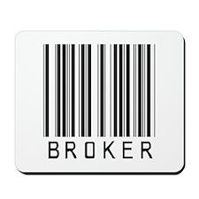Broker Barcode Mousepad
