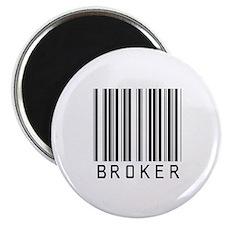 "Broker Barcode 2.25"" Magnet (100 pack)"
